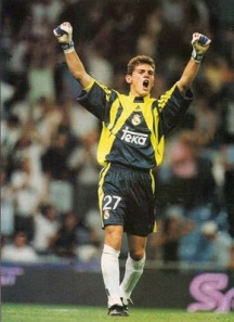 My first memory of Casillas - the 2000 Champions League final.