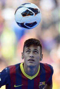 Turns out Neymar was born to play for Barcelona, not Real Madrid.